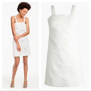 J. Crew convertible strap embroidered dress